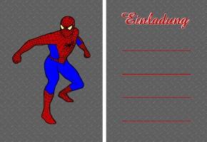 Spiderman Einladungskarten Basteln U2013 Canevision, Einladungs