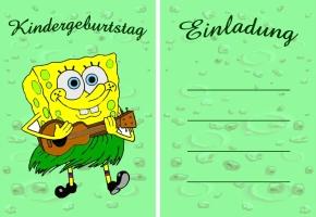 kostenlose einladungskarten kindergeburtstag – cloudhash, Einladung