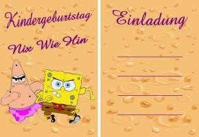 einladungen kindergeburtstag kostenlos drucken | unboxiousguru.co, Einladung