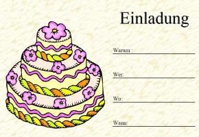 Geburtstag Einladungskarten U2013 Ledeclairage, Kreative Einladungen