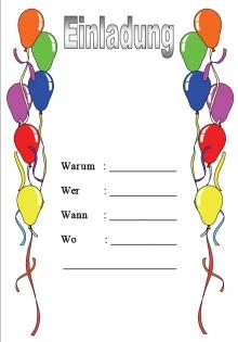 einladungen kindergeburtstag 1 einladungen kindergeburtstag 2 ...