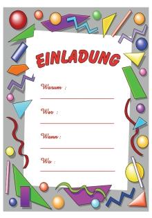 einladungen kindergeburtstag drucken | katrinakaif, Einladungen
