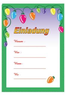 Ideen einladungen kindergeburtstag kostenlos for Geburtstagskarten gratis drucken