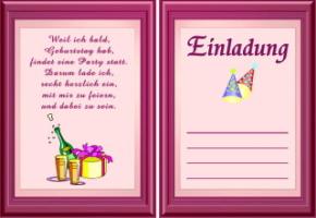 Einladungskarten Geburtstag 18 Vorlagen Gratis | Katrinakaif, Kreative  Einladungen