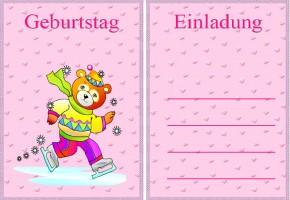 Kindergeburtstag Einladungen 1 Kindergeburtstag Einladungen 2 ...