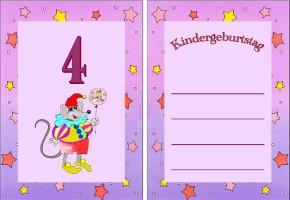 ... geburtstag einladung 4 geburtstagseinladung für kinder kostenlos