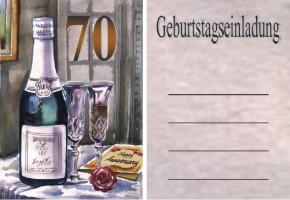 Geburtstag Einladung 70 Jahre