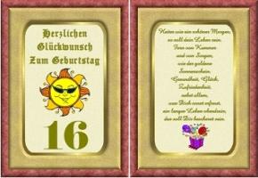 16 Geburtstag Spruche Und Gluckwunsche Lustig Und Kurz