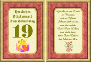 Geburtstag 19 geburtstagswünsche zum Für Enkelkind