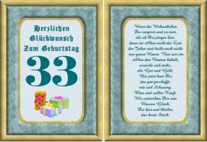 33 Geburtstag Retro Geburtstagskarte Geburtstagsspruche Welt