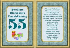 Geburtstagskarten 55 Jahre