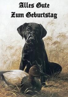 Geburtstagskarten Hunde Motive