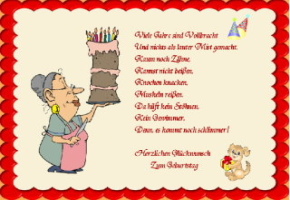 Geburtstagskarten Lustige