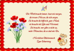 Geburtstagswunsche Schwester Sprche Deutsch Geburtstag Wunsche