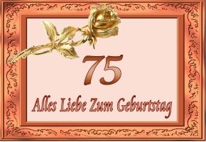 Glückwünsche 75 Geburtstag Kostenlos