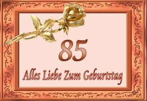 Gluckwunsche zum 85 geburtstag der tante
