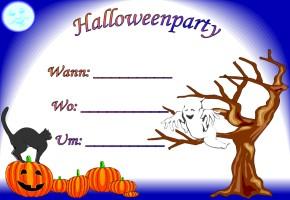 Halloween Einladungen Source · Halloween Party Karten