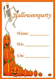 Halloween 1 Halloween Halloween DIN A4 - 3