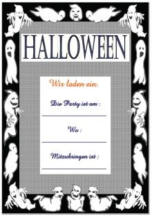 halloween einladungskarten gratis - page 3 - bootsforcheaper, Einladung