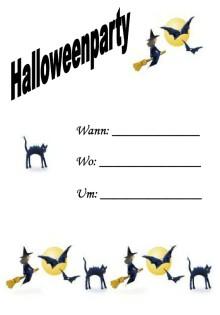 Halloween Party Einladung 14