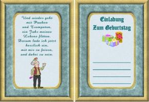 lustige einladungskarten zum 50. geburtstag kostenlos – color, Einladungsentwurf