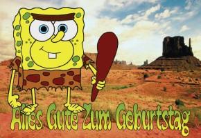Spongebob Geburtstagskarten